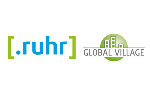 .ruhr und global village logo